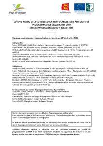 CR CP LEADER 04-07-2016 consultation écrite
