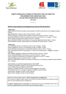 CR consultation écrite CP LEADER 29-05-2017